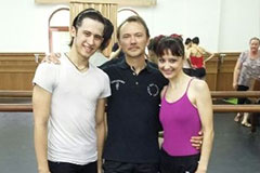 Master classes in ballet art with Danil Salimbayev (Russia) - Chief choreographer of the Opera and Ballet Theater in Cheboksary