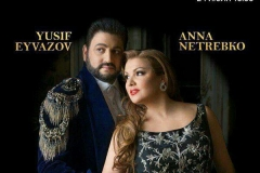 Stars of the world opera scene Anna Netrebko and Yusif Eyvazov will perform for the first time in Tashkent