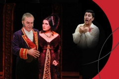 """Premiere<br /> """"Floria Tosca"""" <br /> By J.Puccini<br /> <br />"""